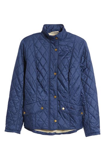 Barbour Cavalry Flyweight Quilt Jacket, US / 8 UK - Blue