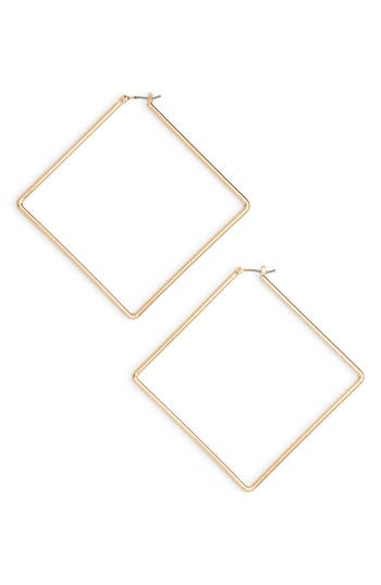 Uncommon James by Kristin Cavallari Girl Boss Square Hoop Earrings