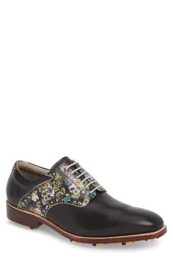 Robert Graham Legend Wingtip Oxford with Removable Cleats