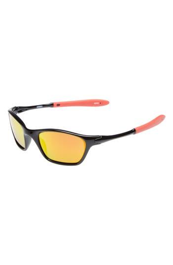 Boys Starlight Accessories 50Mm Rubber Sport Sunglasses  Black Red
