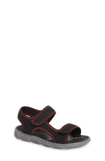 Boys Tucker  Tate Bodie Water Resistant Sport Sandal Size 4 M  Black