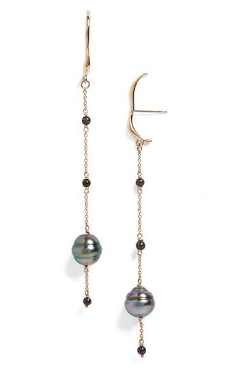 FARIS Aura Cultured Pearl Drop Earrings