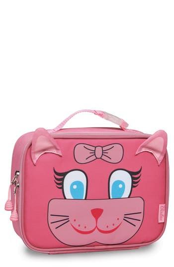 Girls Bixbee Kitty Water Resistant Lunchbox