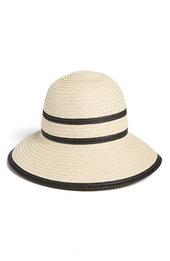 Echo Bondi Straw Cloche Hat