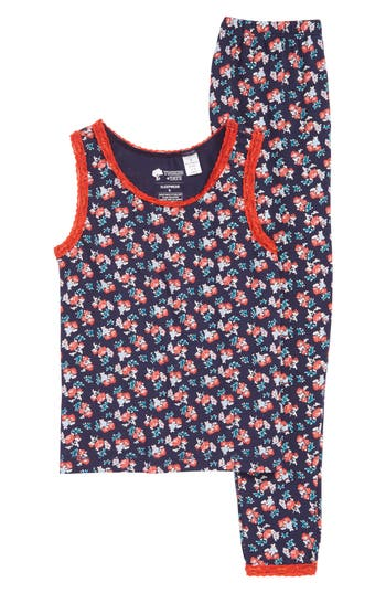 Girls Ruby  Bloom Fitted TwoPiece Pajamas