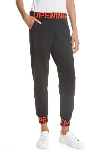 Elastic Logo Sweatpants