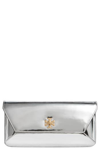Tory Burch Kira Leather Envelope Clutch