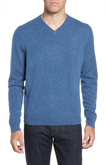 Nordstrom Men's Shop Cashmere V-Neck Sweater