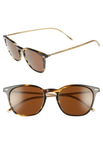OLIVER PEOPLES HEATON 51MM SUNGLASSES - COCO