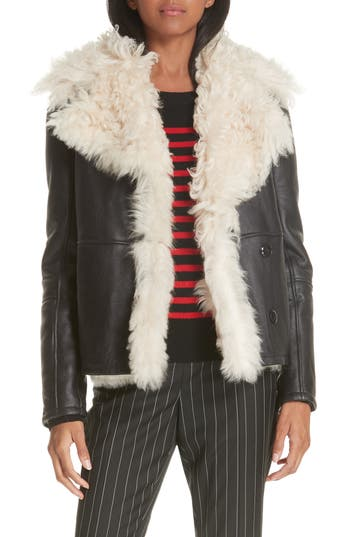 FRAME Genuine Shearling Jacket