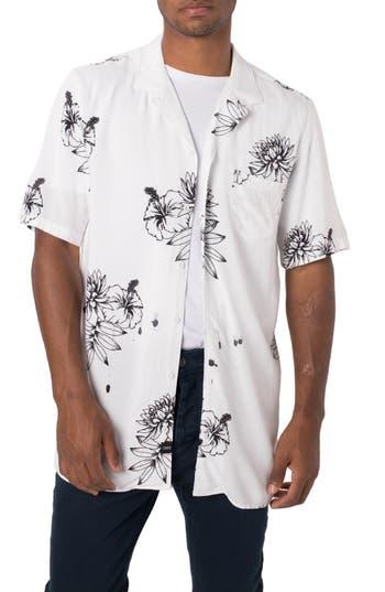 ZANEROBE Banksia Print Rayon Shirt
