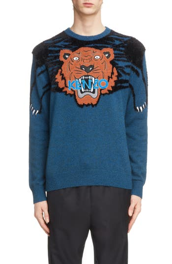 KENZO Tiger Claw Crewneck Sweater