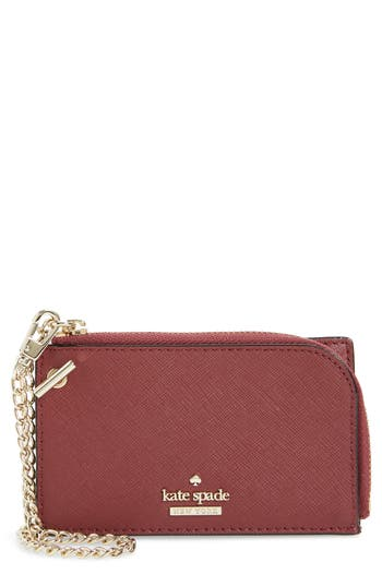 kate spade new york cameron street - ivey leather card case