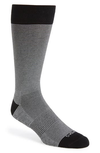 Bombas Striped Crew Socks
