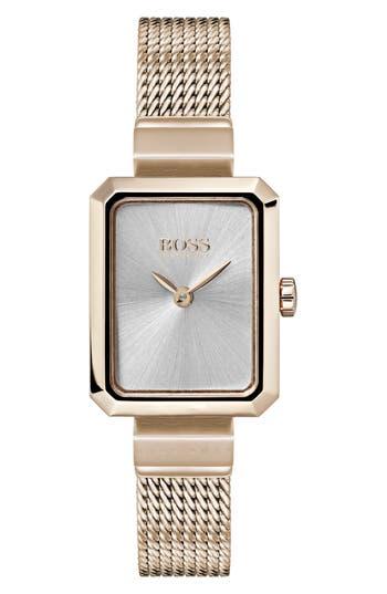 BOSS Whisper Strap Watch, 20mm x 26mm