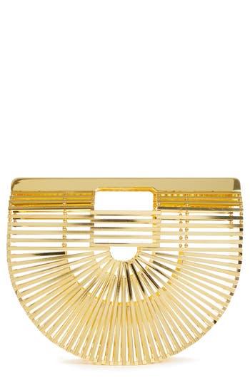 Cult Gaia Small Gaias Ark Metal Handbag