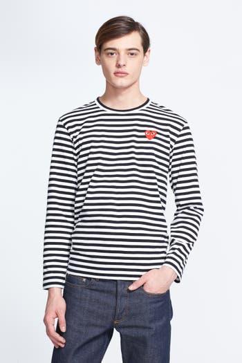 Comme des Garçons PLAY Stripe Long Sleeve T-Shirt