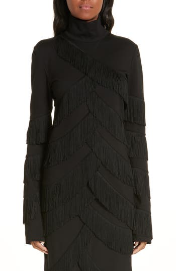 Y/Project Fringe Stretch Jersey Top