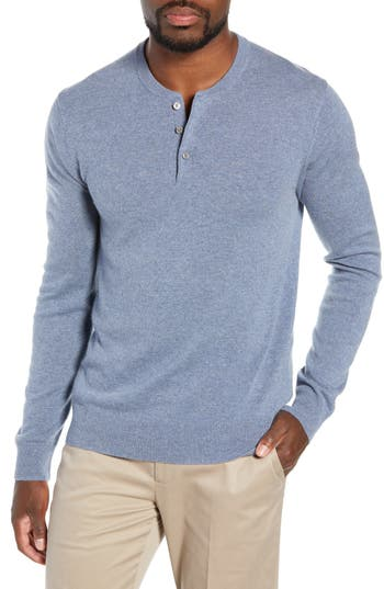 Bonobos Slim Fit Cashmere Henley Sweater