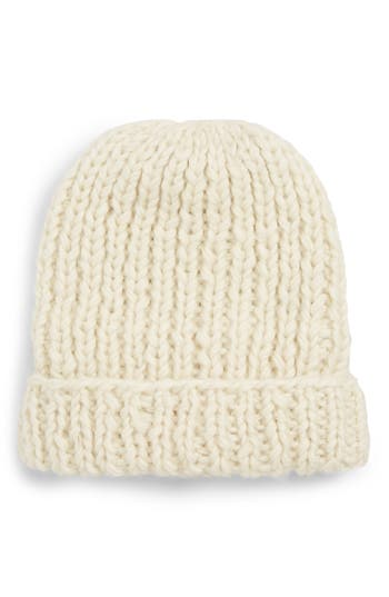 Nirvanna Designs Chunky Knit Slouchy Wool Cap
