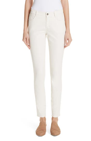 Lafayette 148 New York Mercer Coated Skinny Jeans
