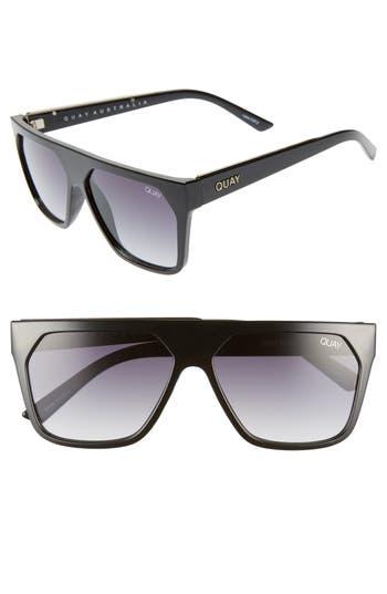 Quay Australia x Jaclyn Hill Very Busy 58mm Shield Sunglasses