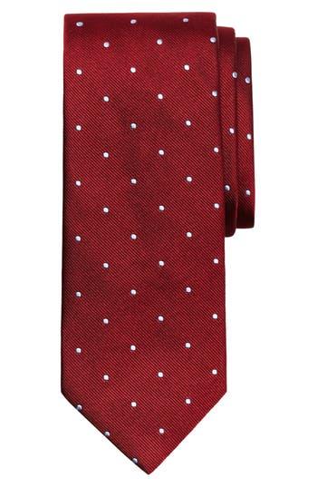 Brooks Brothers Small Dot Silk Tie