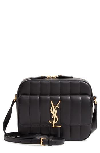 Saint Laurent Vicky Leather Camera Bag