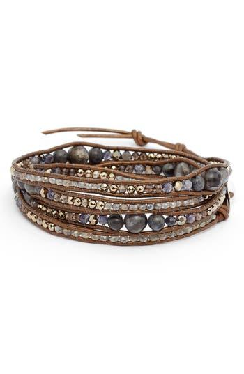 Chan Luu Iolite Mix 5-Wrap Bracelet