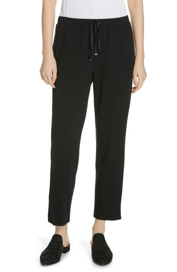 Eileen Fisher Slouchy Ankle Drawstring Pants