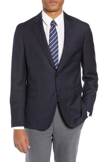 BOSS Nobis Trim Fit Wool Blazer