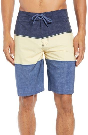 Travis Mathew Gudmunson Coloblock Board Shorts