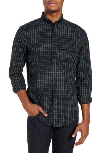 Nordstrom Men's Shop Smartcare™ Regular Fit Tartan Sport Shirt