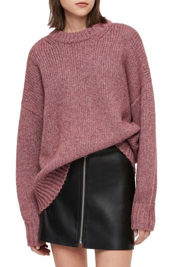ALLSAINTS Gemini Metallic Knit Sweater