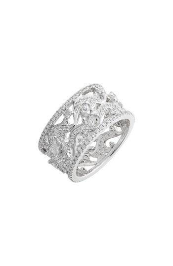 Bony Levy Luxe Wide Diamond Ring