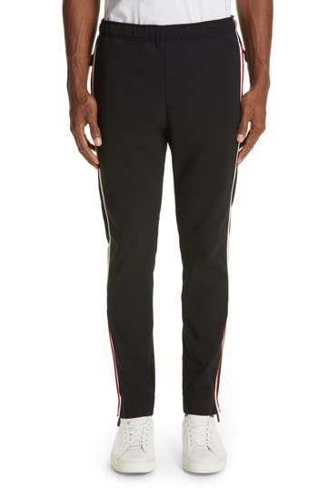 Moncler Pantalone Side Stripe Track Pants