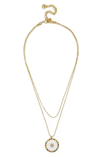 BaubleBar Michala Layered Pendant Necklace