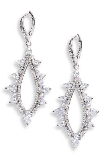 Jenny Packham Imitation Pearl Drop Earrings