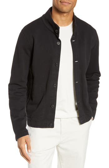 Billly Reid Regular Fit Terry Button Cardigan