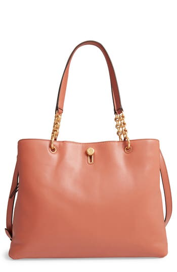 Tory Burch Lily Leather Top Handle Satchel