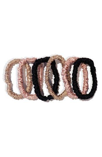 slip™ for beauty sleep 6-Pack Slipsilk™ Skinny Hair Ties