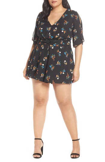 City Chic Vacation Romper