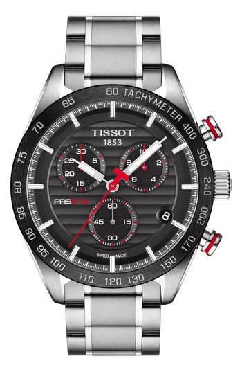Tissot PRS516 Chronograph Bracelet Watch, 42mm