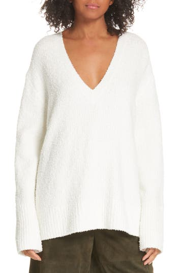Vince Textured Tunic Sweater