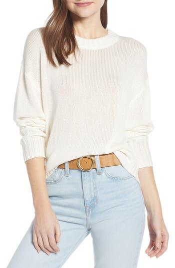 Something Navy Subtle Sheen Sweater