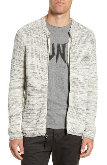 John Varvatos Star USA Zip Sweater