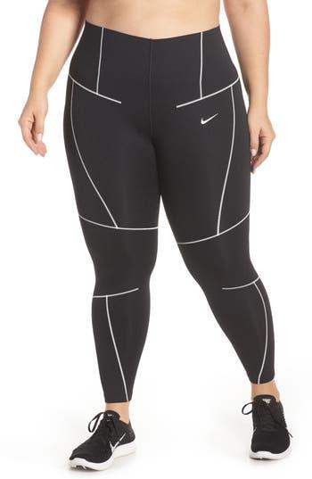 Nike ZigZag Dri-FIT Training Tights (Plus Size)