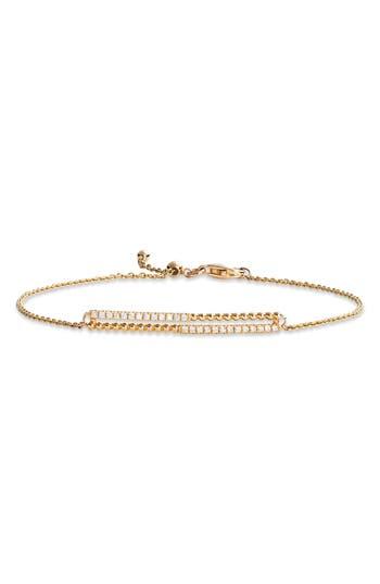 Bony Levy Diamond and 18K Gold Bead Bracelet