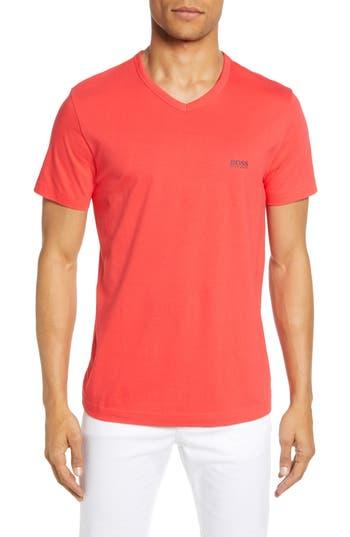 BOSS Teevn V-Neck Logo T-Shirt