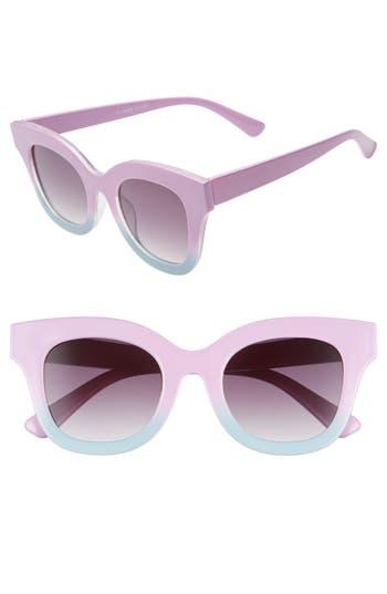 Glance Eyewear 50mm Ombré Square Sunglasses